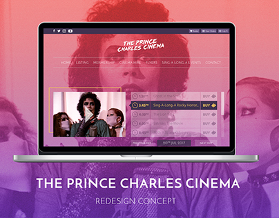 The Prince Charles Cinema Redesign Concept