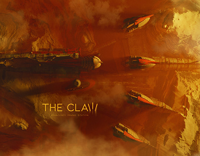 """the """"Claw"""". Abandoned Mining Station"""