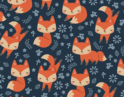Lil Foxes Pattern