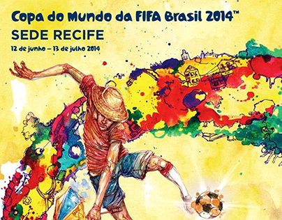 Cartaz | Copa do Mundo FIFA Brasil 2014 (Sede Recife)