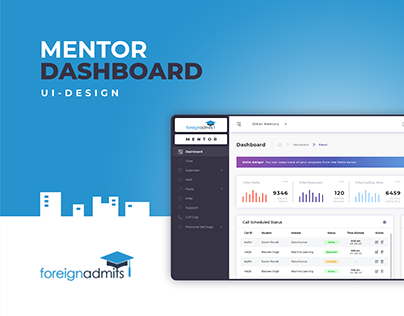 Dashboard | UI Design | ForeignAdmits
