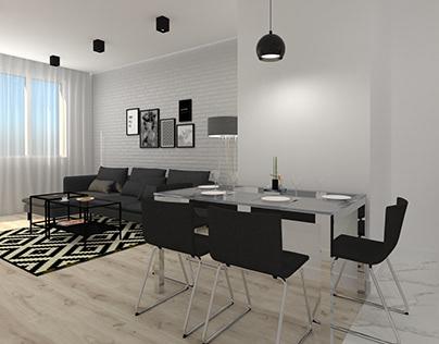 Simple apartment, Poland