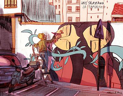 """Sketching """"La Tapia Fest"""" 18"""