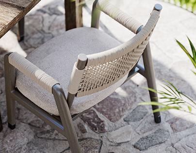 Outdoor Furniture | Photorealistic visualization
