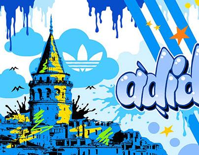 Adidas - Graffiti for Beyoğlu Shop