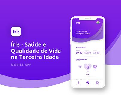 UI/UX | Íris - Saúde e Qualidade de Vida
