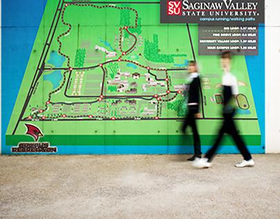 SVSU 3D Running Map