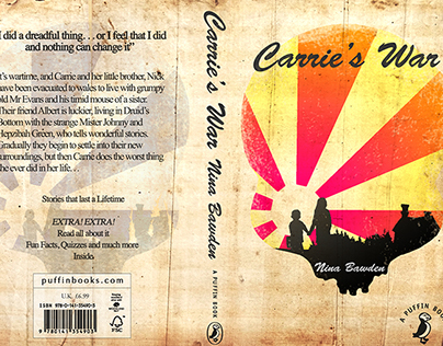 Carrie's War - Pengiun Book Cover Competition 2015