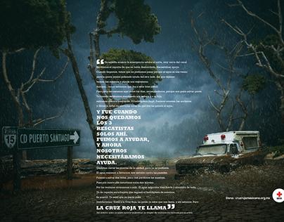 LA CRUZ ROJA TE LLAMA | Cruz Roja Mexicana
