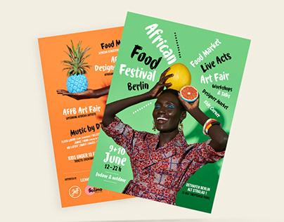 African Food Festival Berlin - Campaign Creative