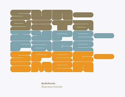 Sungita Typeface