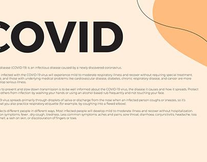 Wordmark Covid 19