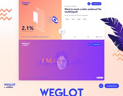 Webdesign and Development for Weglot