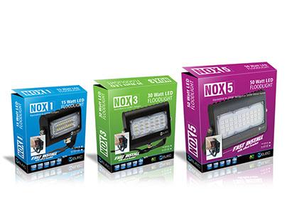 LED Floodlight range packaging