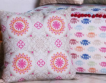 Naseej Fabrics - pattern prints
