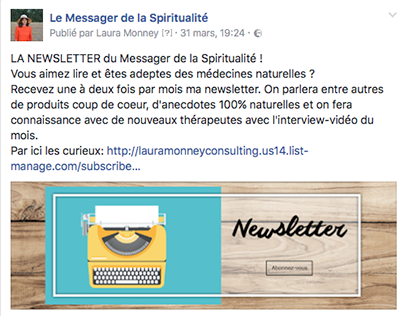 LMC Facebook: news