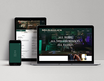 McArdle's Website and Logo