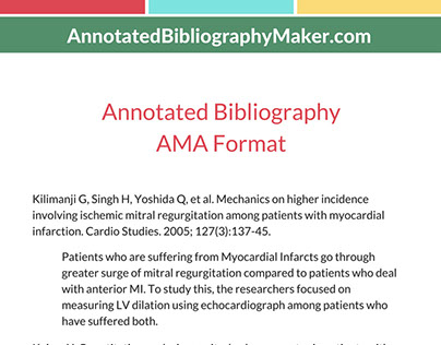 annotated bib maker