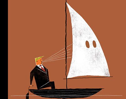 """""""Blowhard"""" New Yorker Cover"""