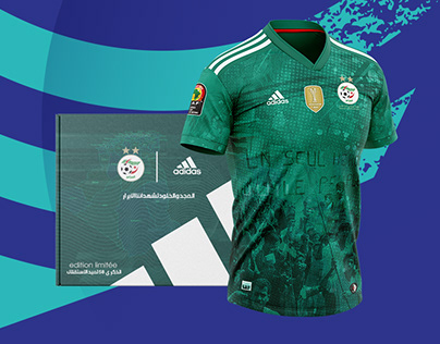 Adidas Algeria Jersey - Independence day Edition