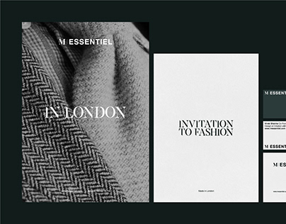 M'Essentiel Fashion Designer Branding