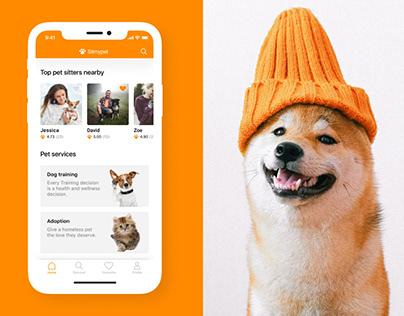 Sitmypet Mobile App UI/UX