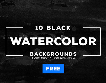 Free Graphics: Watercolor Backgrounds