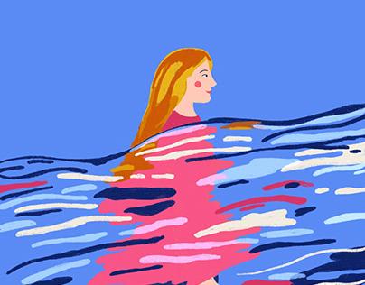 Floating - flowing