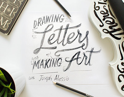 Skillshare: Lettering Beyond The Page