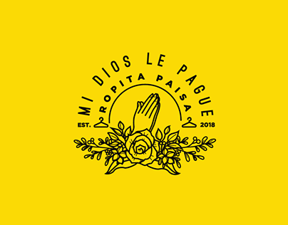 Branding Concept - Mi Dios le Pague