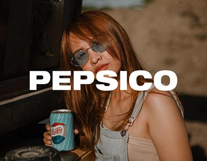 PEPSICO — website redesign concept
