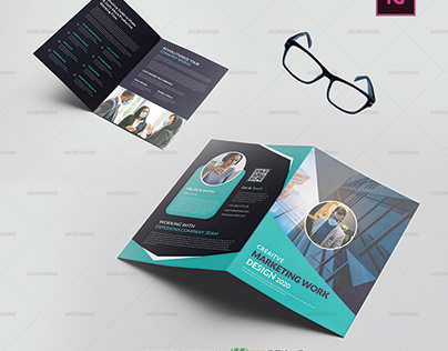 Embric Business BiFold Brochure Template Free Download