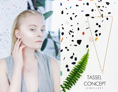 Editorial for TASSEL CONCEPT JEWELLERY