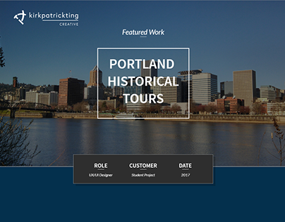 Portfolio Website Sample Page