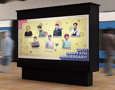 GOT7's 4th Anniversary Advertisement