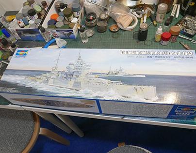 [working] 1/350 HMS Queen Elizabeth