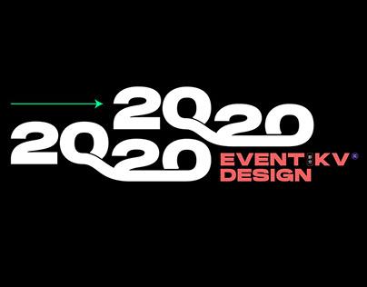 2020 EVENT KV(提案视觉) DESIGN