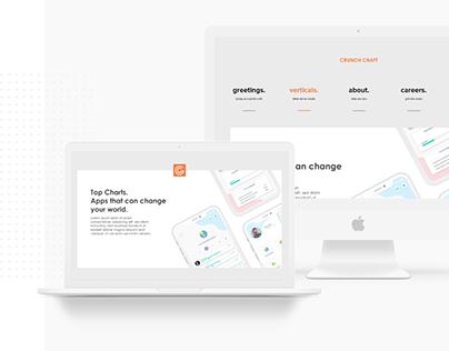 Crunch Craft - Website Design