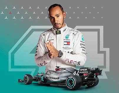 Formula 1 Social Media Posts