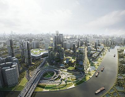 Huanggang Masterplan   EMBT Architects
