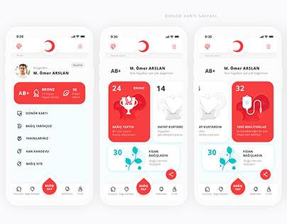 Kızılay Mobile App