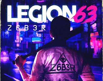 Cover Album Z6B3R - Legion 63