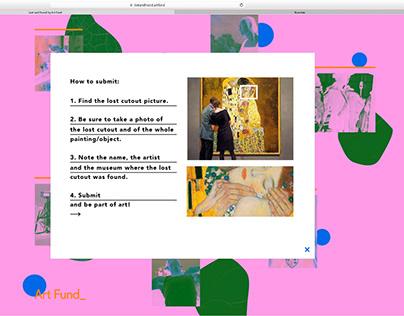 DIGITAL CAMPAIGN - YCN Submission 2019 - Artfund