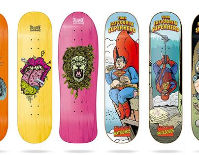 Cruzade Skateboards 2019 Deck Collection