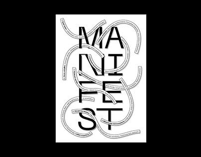 MANIFEST - personal manifesto