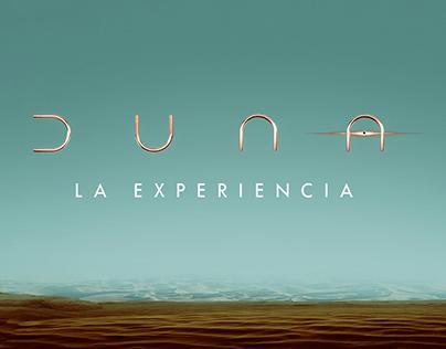 """DUNA """"LA EXPERIENCIA"""""""