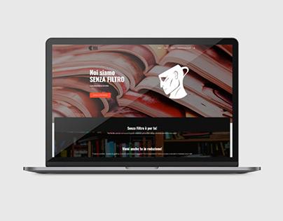 Senza Filtro Website