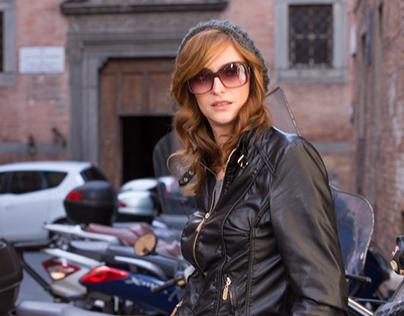 exploring romantic Siena , Italy