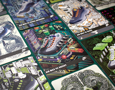 Nike Air Max 95 Collectables cards