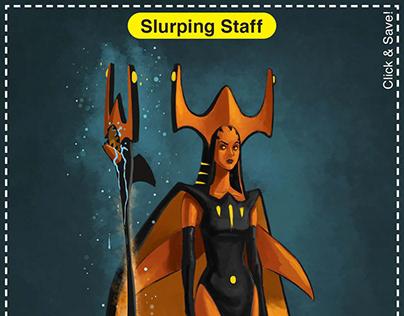 Slurping Staff Card